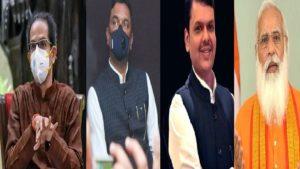 Uddhav Thackeray_Pratap Sarnaik_Devendra Fadnavis_Narendra Modi