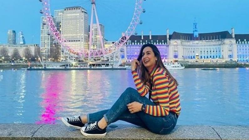 Sakshi Pant in england