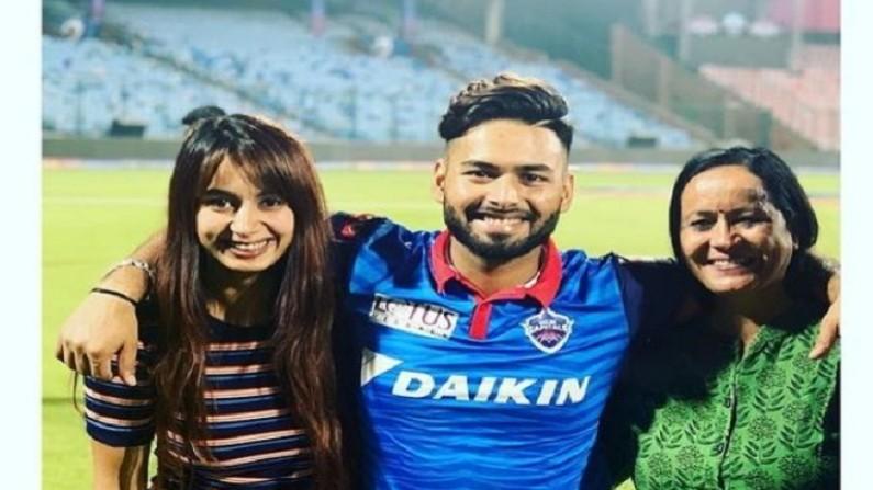 rishabh pant family