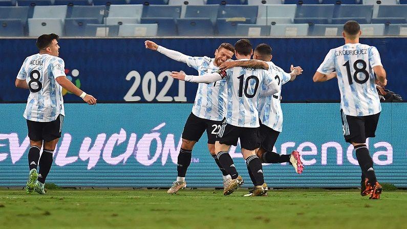 Copa America : मेस्सीचा एका मागोमाग एक गोल, अर्जेंटीनाचा बोलिवियावर दमदार विजय, पाहा VIDEO