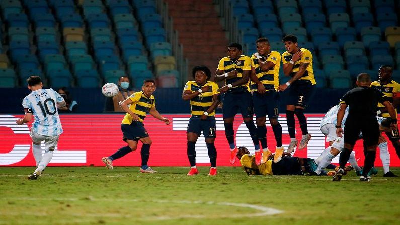 Copa America : मेस्सीचा जादूई गोल, अर्जेंटीना इक्वाडोरवर विजय मिळवत सेमीफायनलमध्ये दाखल