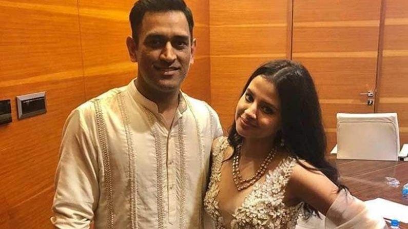 Dhoni couple-
