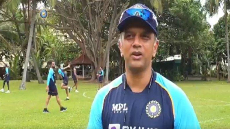 IND vs SL : राहुल द्रविड देतोय युवा खेळाडूंना धडे, श्रीलंकेवर विजयासाठी भारतीय संघाचा सराव, बीसीसीआयने शेअर केला Video