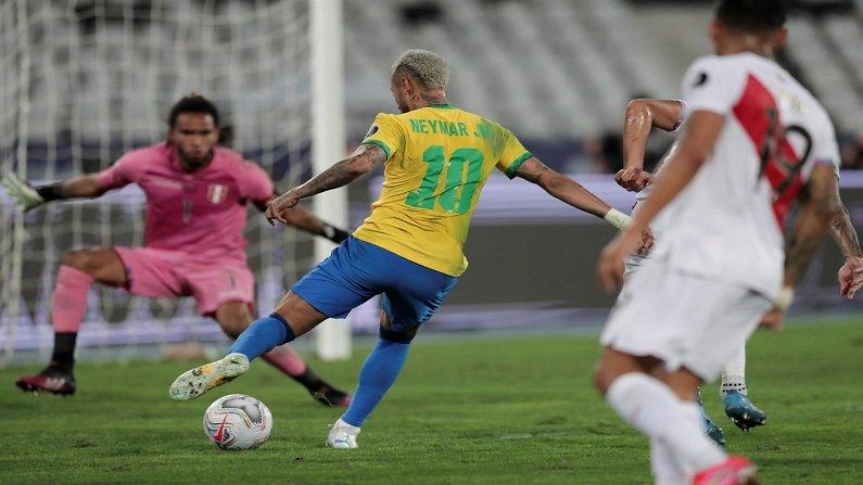 Copa America 2021 : नेमारची जादू आणि ब्राझील अंतिम सामन्यात दाखल, पेरु संघावर अप्रितम विजय, पाहा व्हिडीओ