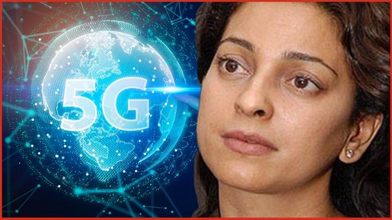 Juhi Chawla's problems escalated in the 5G case, with a one-week deadline to pay the fine of Rs 20 lakh